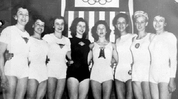 Team Usa S First Medal Women S Gymnastics At London 1948