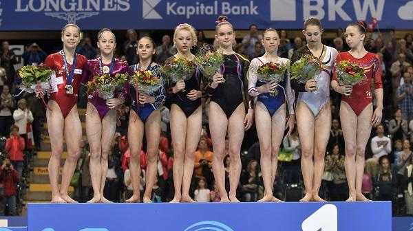 31th European Women's Artistic Gymnastics Team Championships, Juniors and Seniors 6/2016, June 1-5