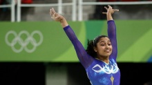 2016 Rio Olympics - Artistic Gymnastics - Final - Women's Vault Final - Rio Olympic Arena - Rio de Janeiro, Brazil - 14/08/2016. Dipa Karmakar (IND) of India competes.  REUTERS/Marko Djurica FOR EDITORIAL USE ONLY. NOT FOR SALE FOR MARKETING OR ADVERTISING CAMPAIGNS.