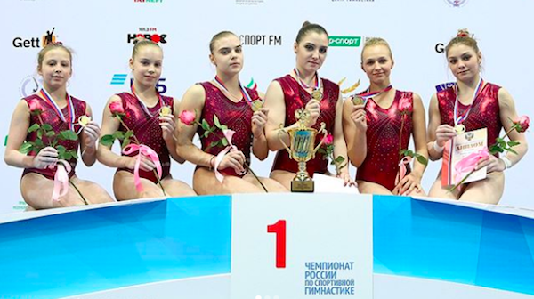 2018 Russian Championships Results | The Gymternet